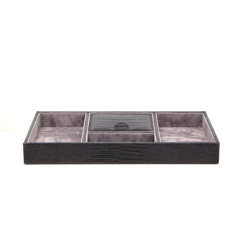 Black Valet Tray