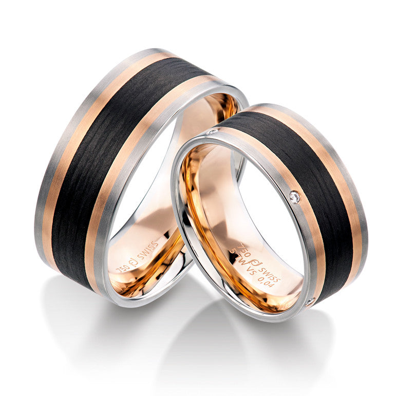 sets from couple alliances classic jewelry promise marriage of in bands wedding plated rings steel full gift usa band item size titanium gold color