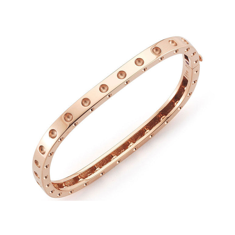 18k Rose Gold Pois Moi Bangle