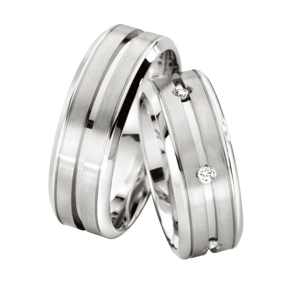 Platinum Comfort Fit Men's Band
