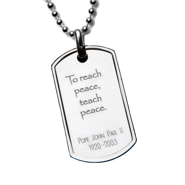 Pope John Paul II PeaceTag