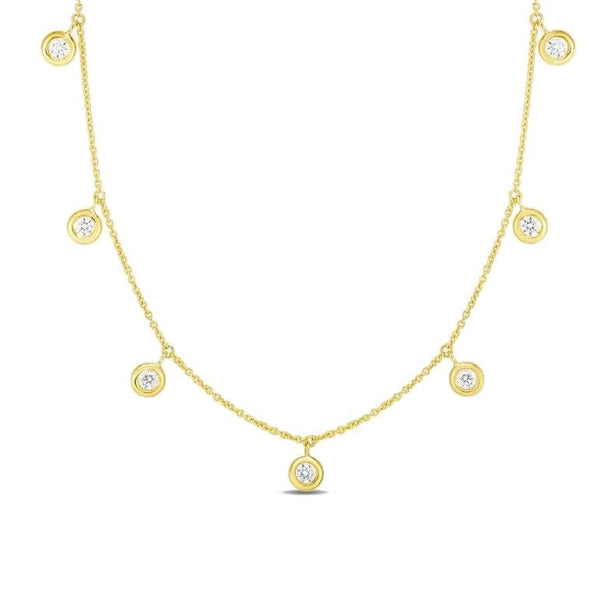Roberto Coin Diamond Dangle by the Inch Necklace