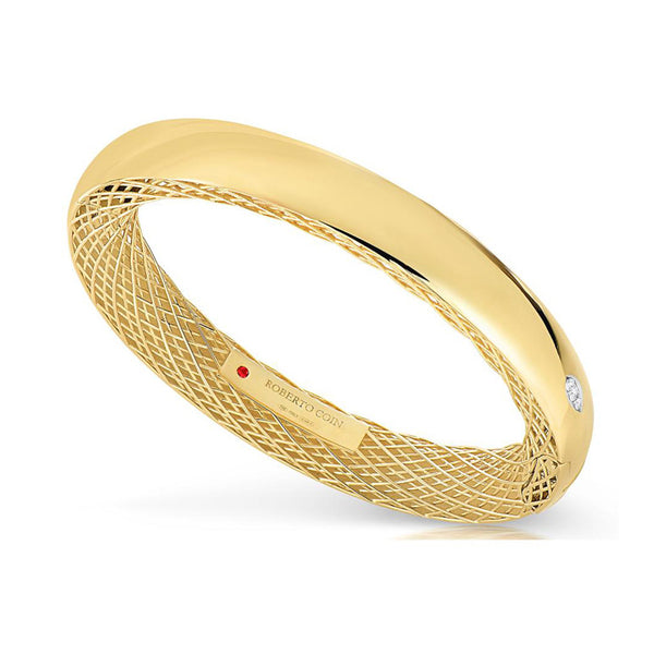 18k Yellow Gold Golden Gate Bangle - Alvin Goldfarb