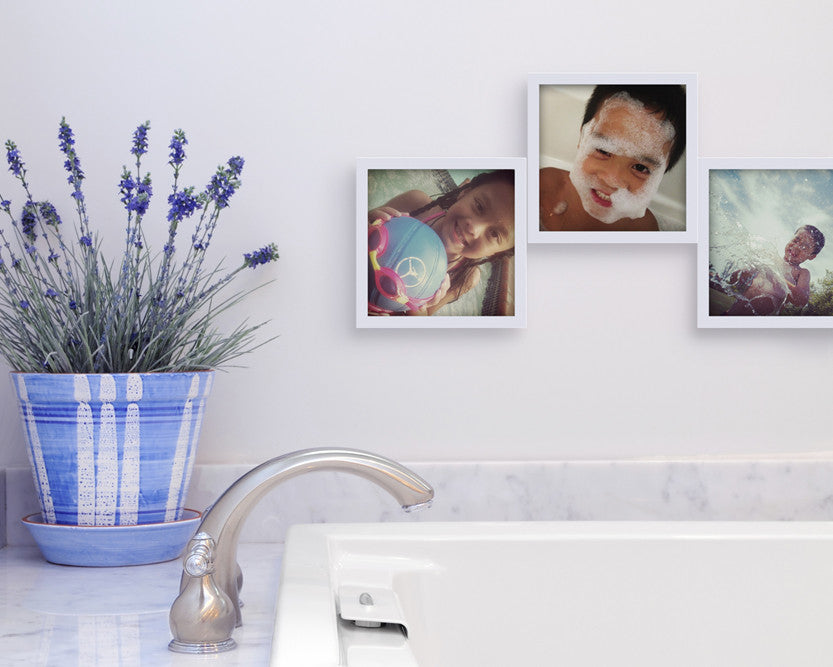 Customize Your Photo Collage Frames Bathroom Wall Decor