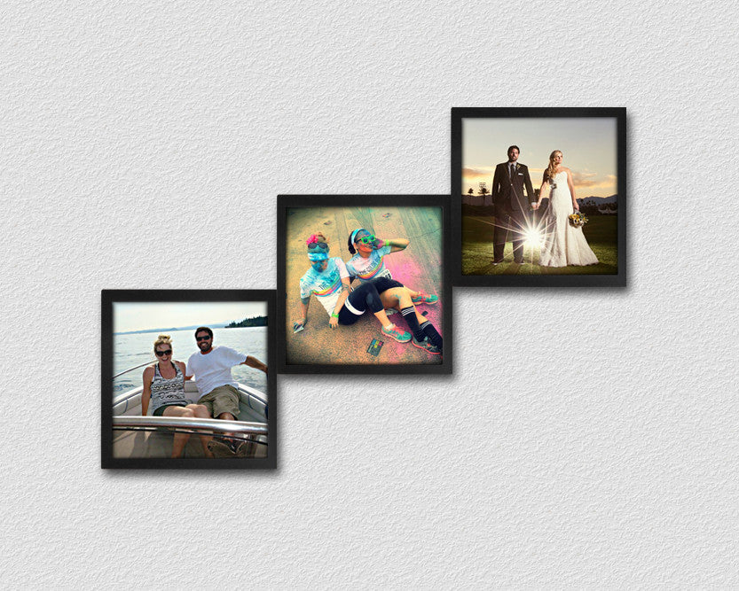 Customize Your Photo Collage Frames | Living Room Wall Decor ...