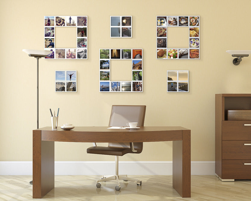 Office Picture Frames 4x4 Photo Frames 54 Frame Kit Fotobit
