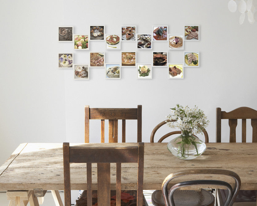 Customize Your Photo Collage Frames | Dining Room Wall Decor ...