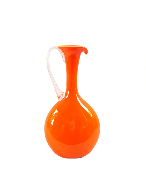Empoli Orange Lollipop Pitcher