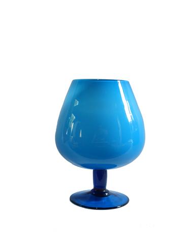 Italian Brandy Balloon in Blue No. 1