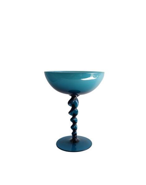 Teal Empoli Candy Dish