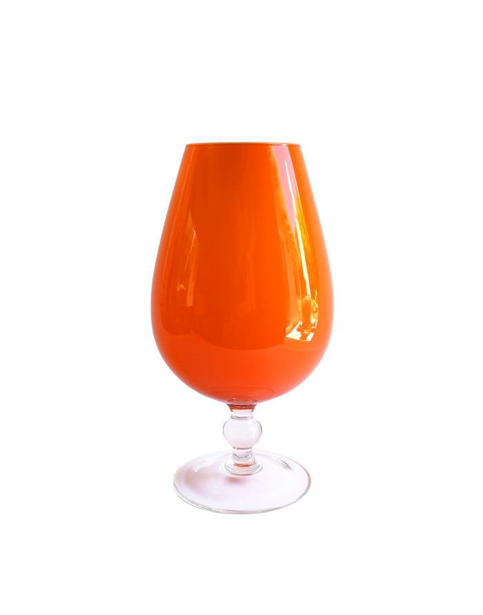 Empoli Orange Goblet