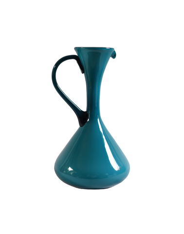 Teal Empoli Italian Pitcher