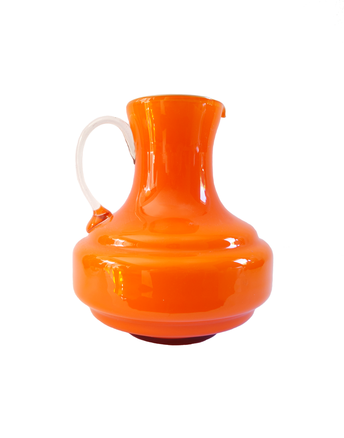 Empoli Orange Squat Pitcher