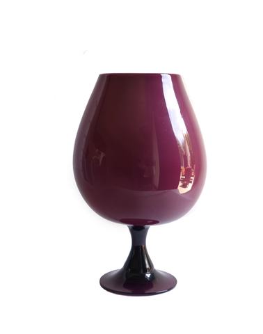 Italian Brandy Balloon in Amethyst