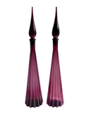 Empoli Amethyst Floor Decanter No. 2