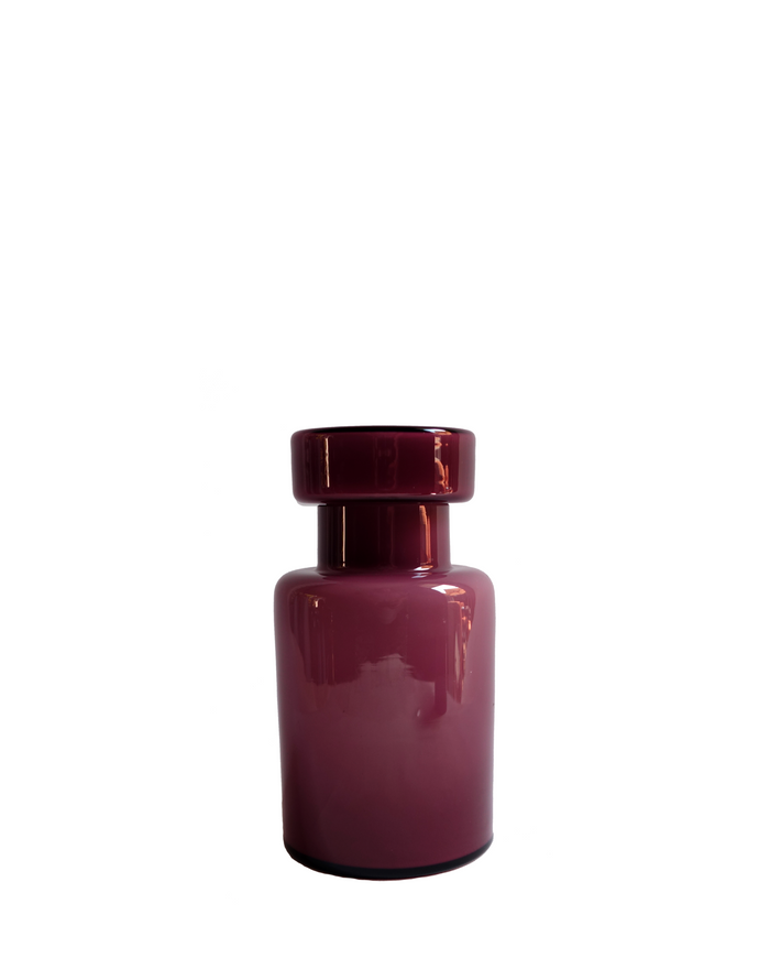 Murano Vistosi Amethyst Lidded Jar No. 1