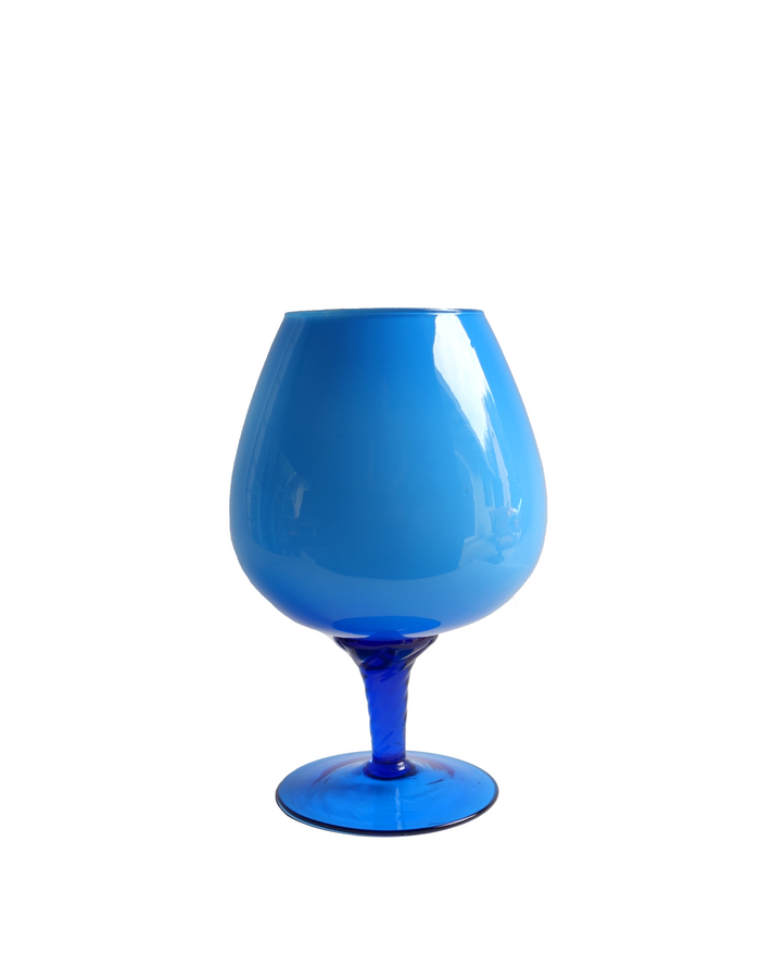 Italian Brandy Balloon in Blue