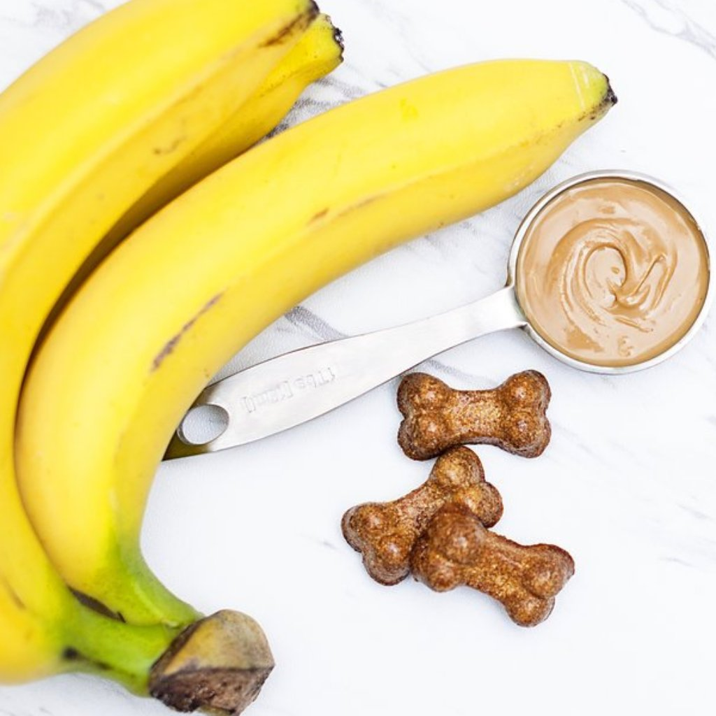 Grain-Free Peanut Butter Banana My Dog Treats