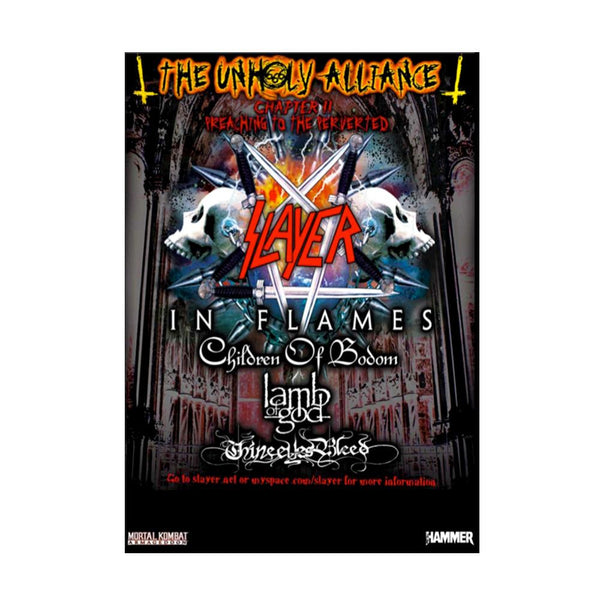Unholy Alliance DVD