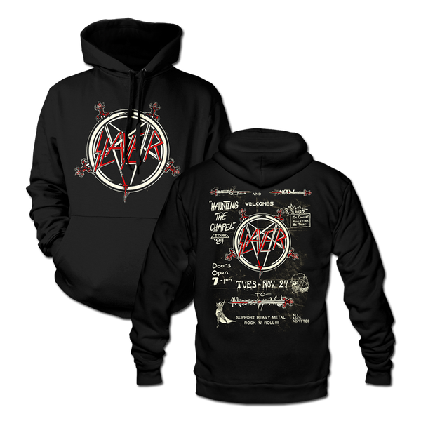 Haunting '84 Flyer Pullover Hoodie