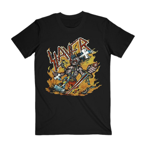 Cartoon Flames Tee