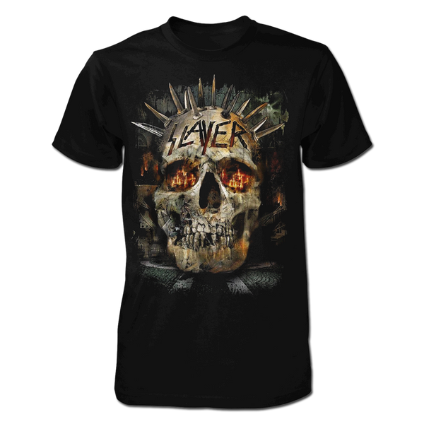 Burning Crosses Skull Tee