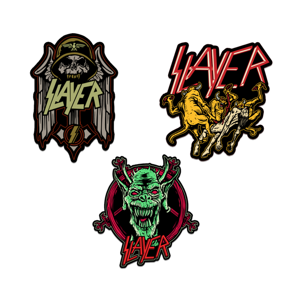 Demonic Enamel Pin Bundle