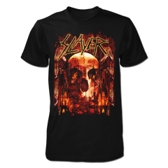 Fiery Winged Skull 2019 Tour Tee