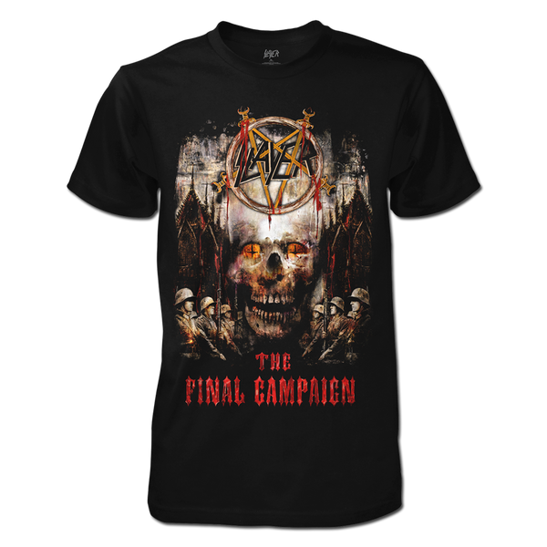 The Final Campaign Skull Tee