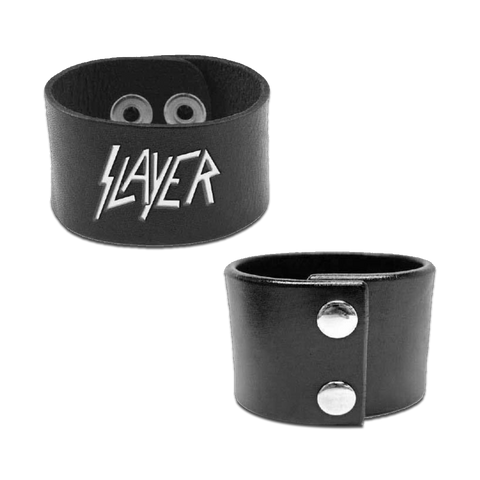 Logo Leather Cuff