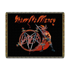 Show No Mercy Woven Blanket