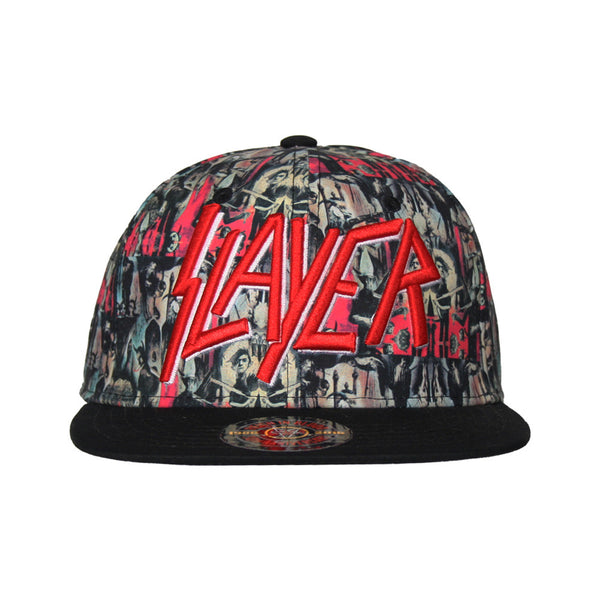 5023808e8c0 Reign In Blood All Over Snapback Hat