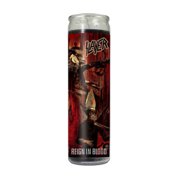 Reign in Blood Prayer Candle