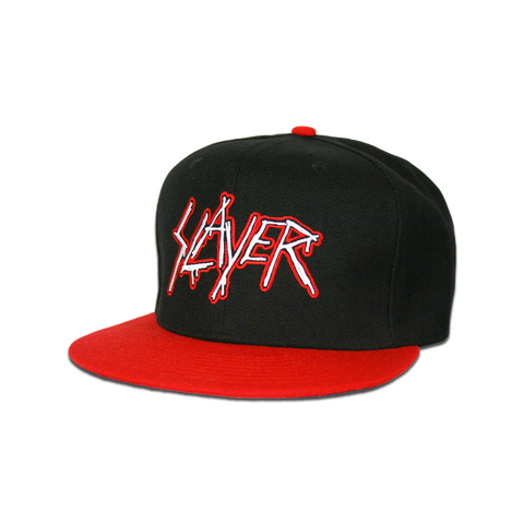 Black / Red Eagle Snapback Hat