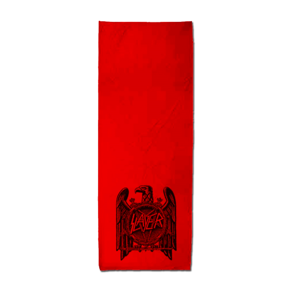 Stamped Eagle Red Cooling Towel