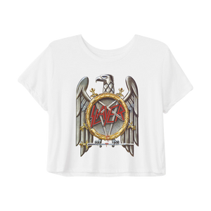 Silver Eagle Crop Top