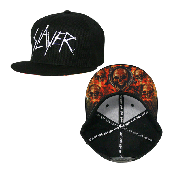 Skull Shield Snapback Cap