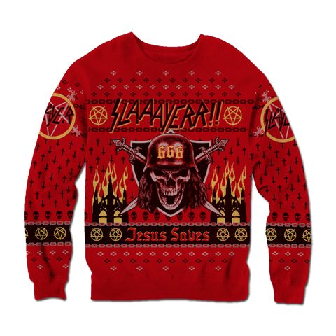 Slayer 666 Holiday Sweater