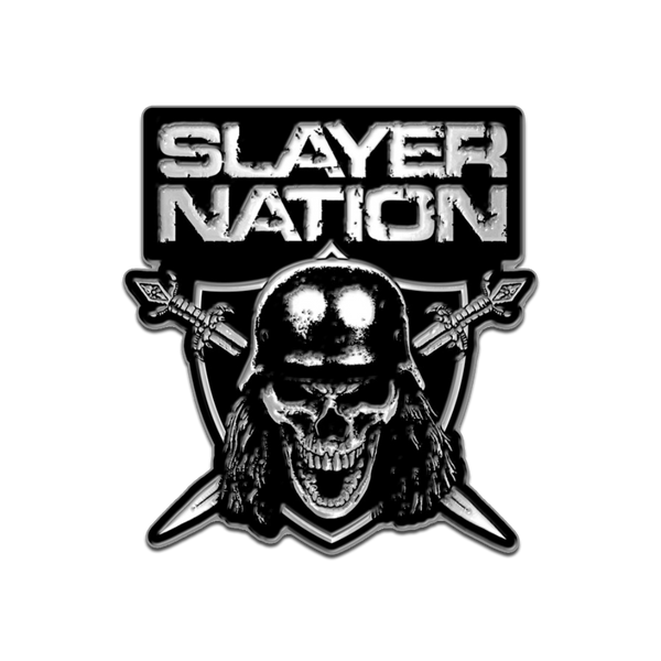 Slayer Nation Cloisonne Pin