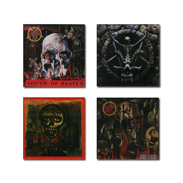 Slayer Album Art Magnet Set