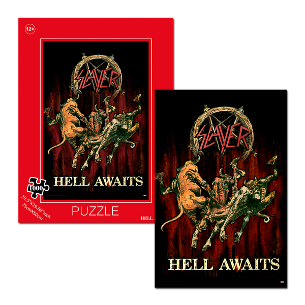 Hell Awaits Jigsaw Puzzle