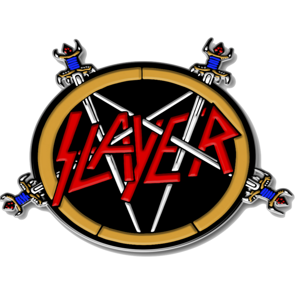 Reign in Blood Cloisonne Pin