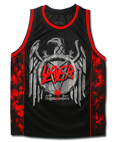 SLAYER BASKETBALL JERSEY - X-Large