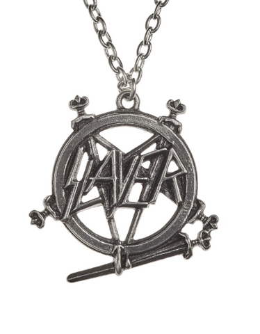 Slayer Pentagram Logo Necklace