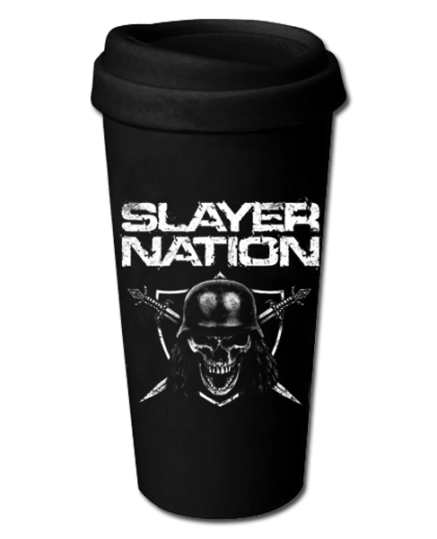 SLAYER NATION CERAMIC TRAVEL MUG