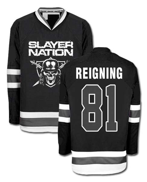 SLAYER NATION HOCKEY JERSEY - X-Large