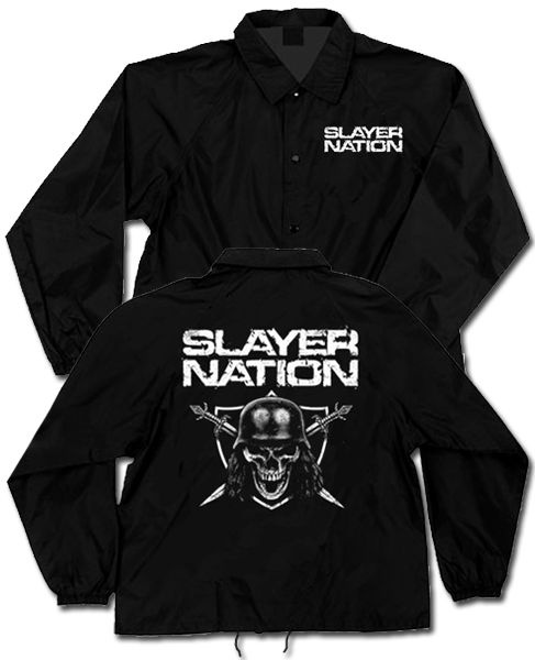 SLAYER NATION WINDBREAKER - X-Large