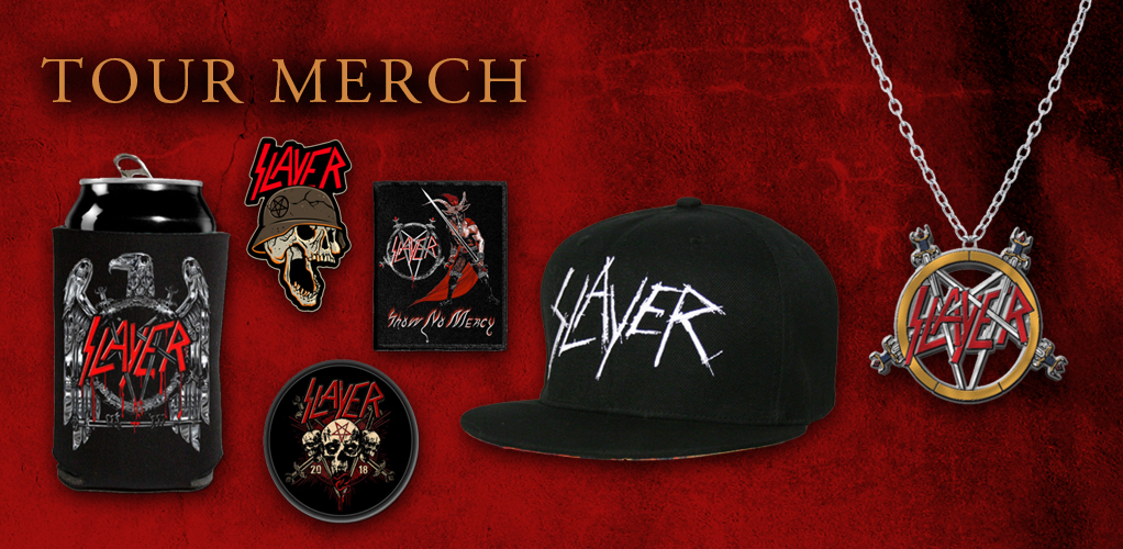 Slayer  Tour Merch