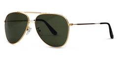 Colt Brushed Gold with Polarised Lenses for John Ho's Birthday
