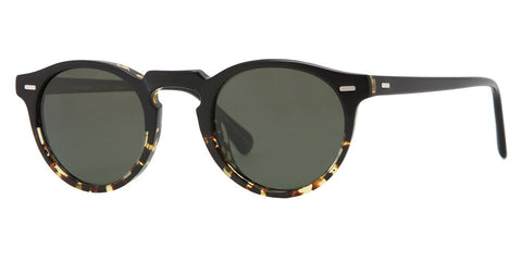 Gregory Peck Black/Dark Tortoise Polarised